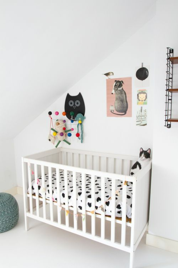 Babyzimmer deko eule  Babyzimmer gestalten - 50 coole Babyzimmer Bilder