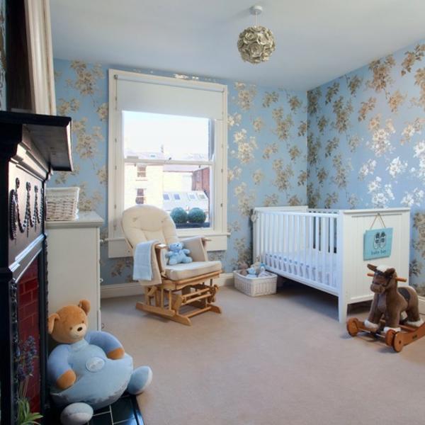 Deko Babyzimmer Gestalten Fenster Wandfarben