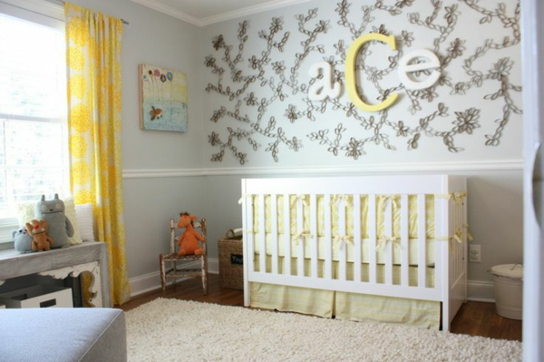 babyzimmer gestalten 50 coole babyzimmer bilder. Black Bedroom Furniture Sets. Home Design Ideas
