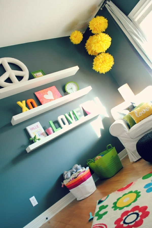 Babyzimmer Idee Pastell