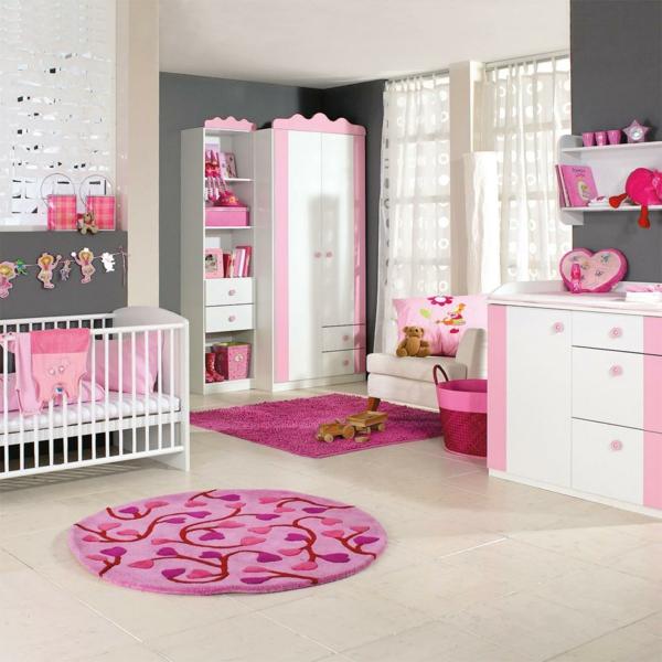 Babyzimmer gestalten - 50 coole Babyzimmer Bilder | {Babyzimmer deko 55}