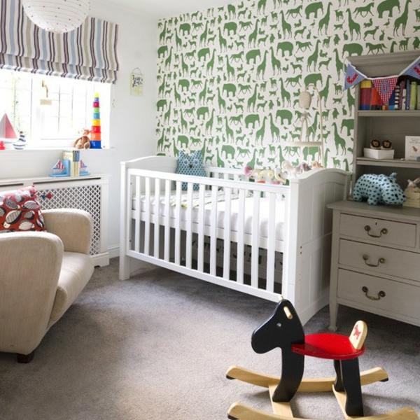 Babyzimmer Tiermuster Gestalten Deko Ideen Thematisch Einrichten