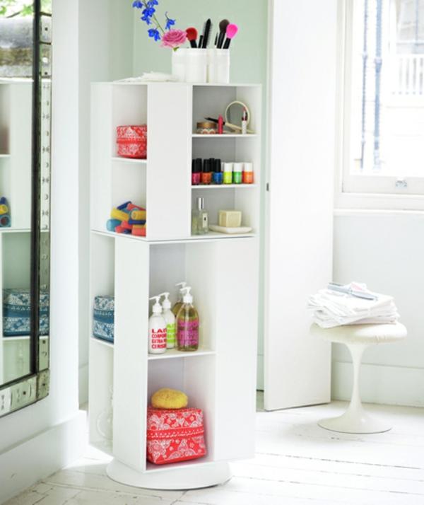 badezimmer stauraum weiß modular regale