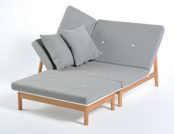Chaiselongue  sofa lounge möbel