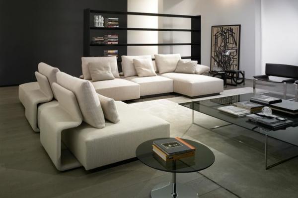 Chaiselongue Sofa   komfortable Lounge Möbel