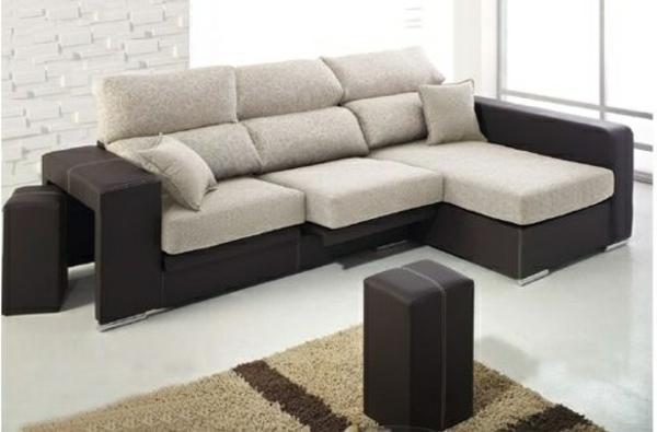 liegesofa  stilvolle möbel hocker