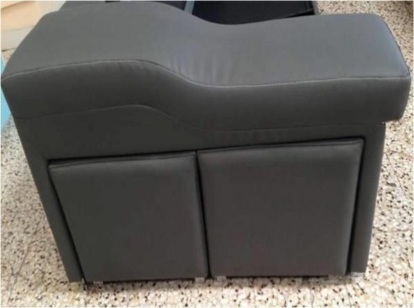 Chaiselongue sofa tolle möbel leder grau lagerraum