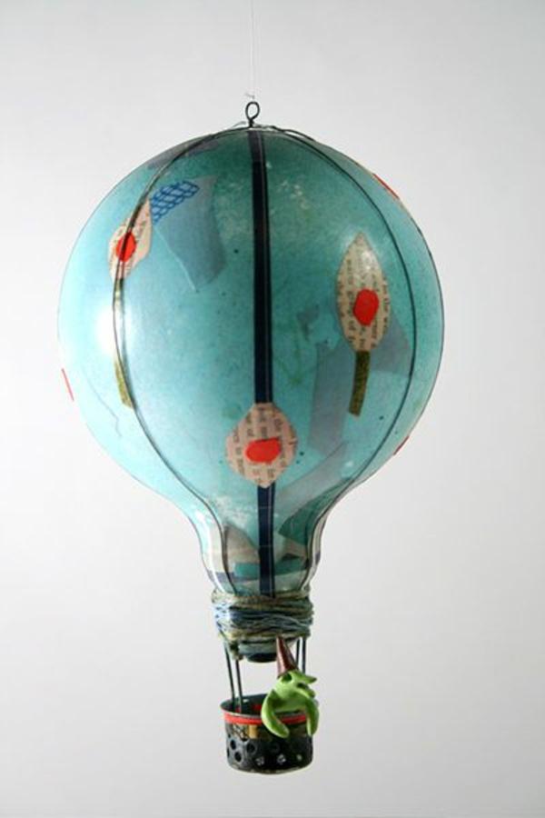 DIY Deko aus Glühbirnen ballons