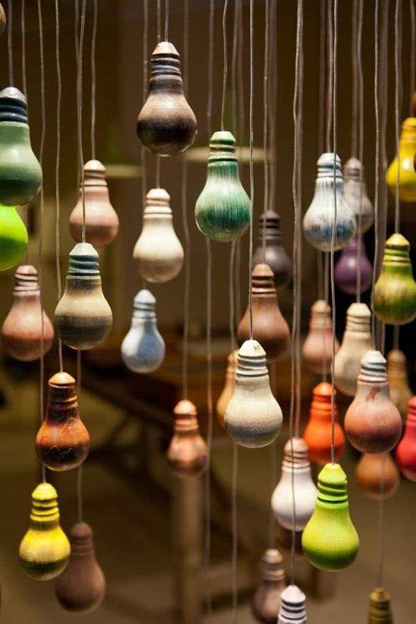 Glühbirne Deko diy deko aus glühbirnen 120 bastelideen für alten glühbirnen