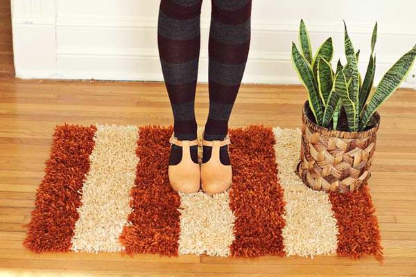 DIY Teppiche und Fußmatten braun bodenbelag