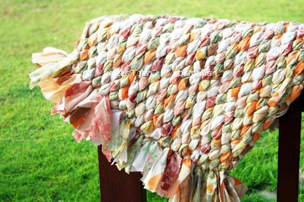 DIY Teppiche und Fußmatten bunt gestrickt