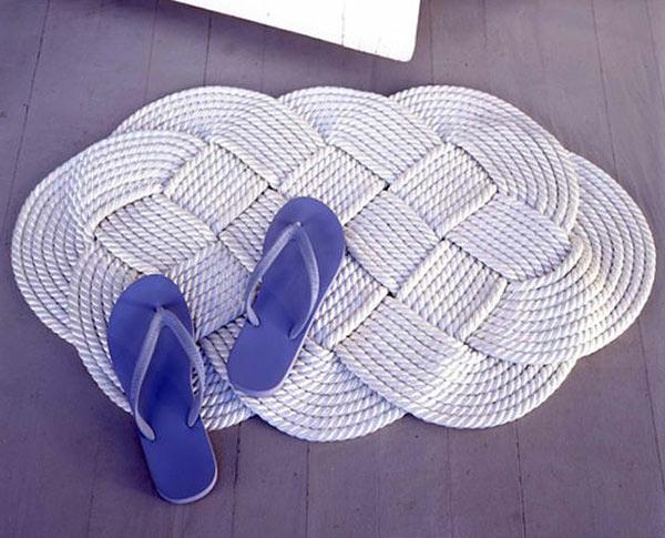 DIY Teppiche und Fußmatten weiß badezimmer