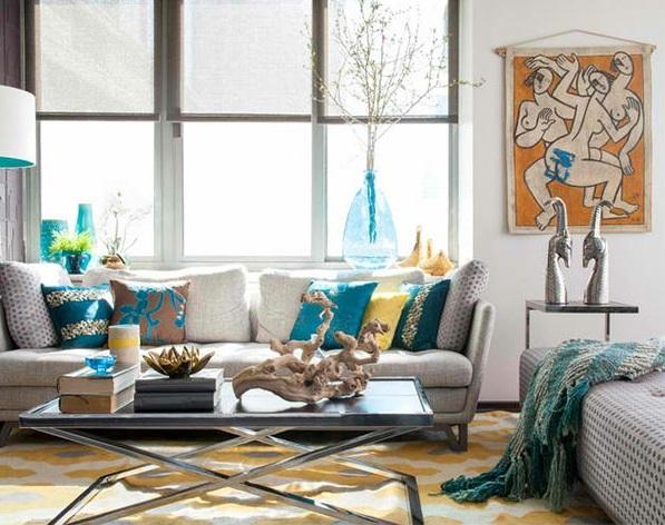 Deko aus Treibholz kunst polstermöbel innendesign