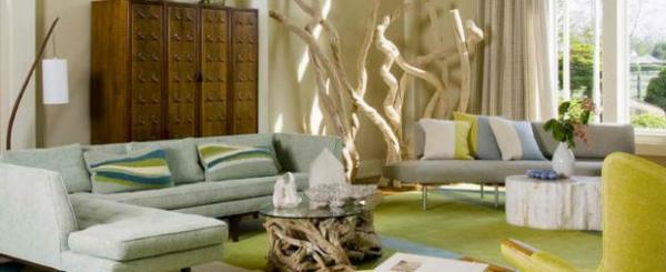 Deko aus Treibholz kunst sofa möbel