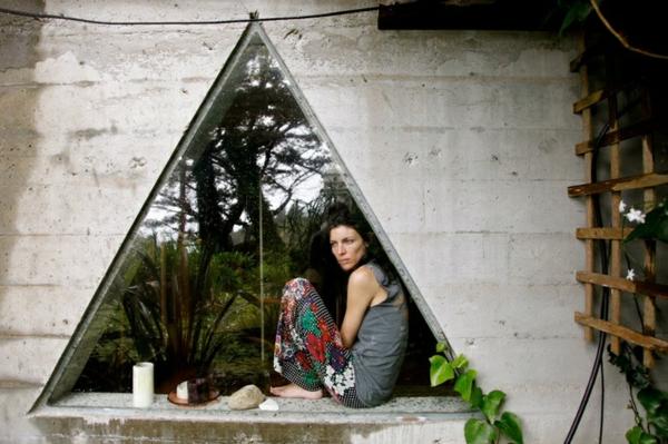 Dreiecksfenster verdunkeln fensterfolien rollos designs modern
