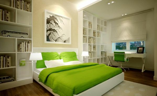 Feng Shui Schlafzimmer Komplett Farben Gestalten Grün