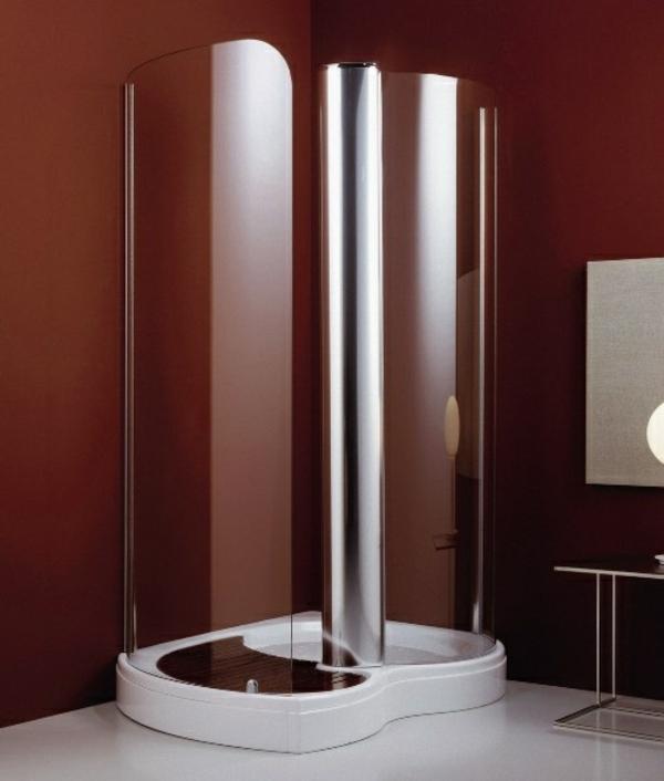 Fertigduschkabinen duschkabinen komplett komplettduschen braun wand