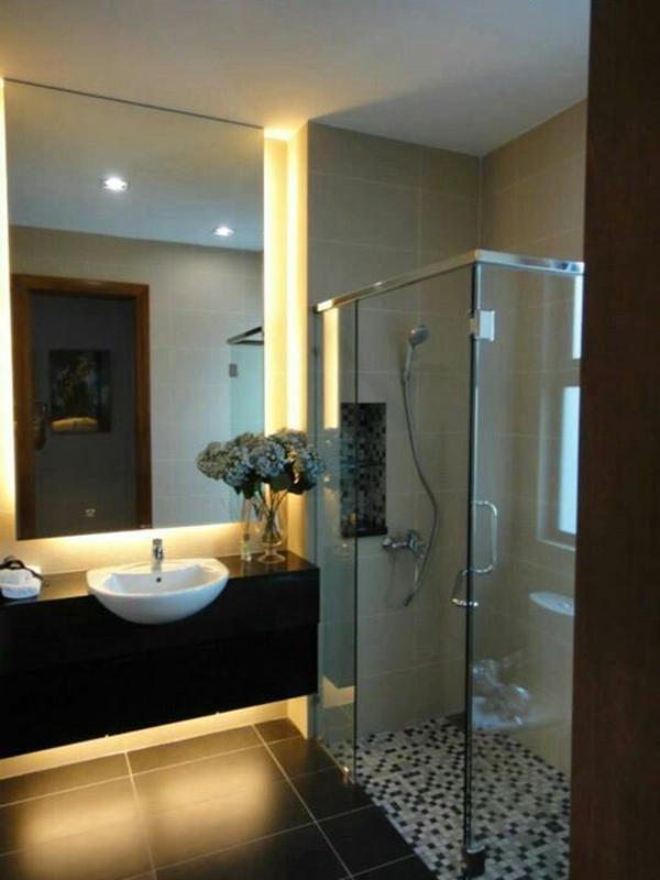 Fertig duschkabinen komplett komplettduschen duschkabinen gelb licht
