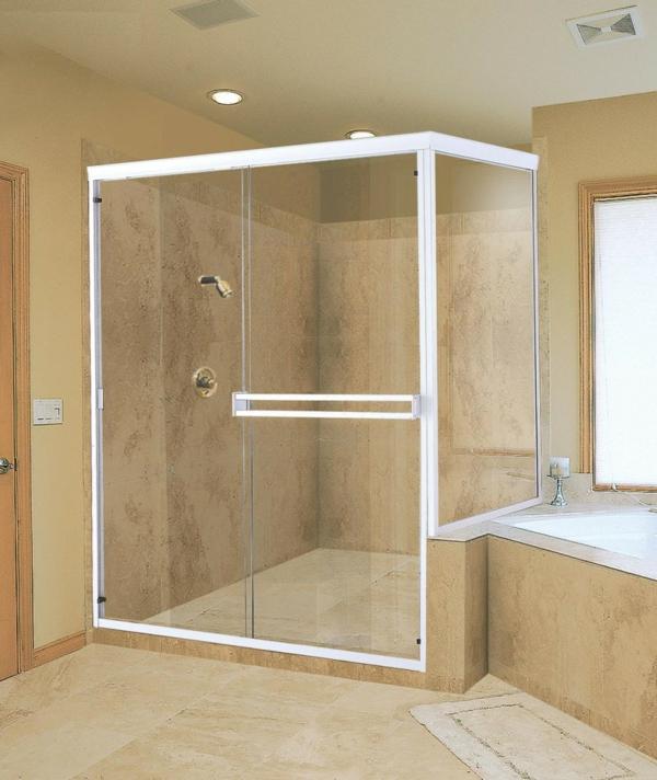 Fertig duschkabinen komplett komplettduschen minimalistisch