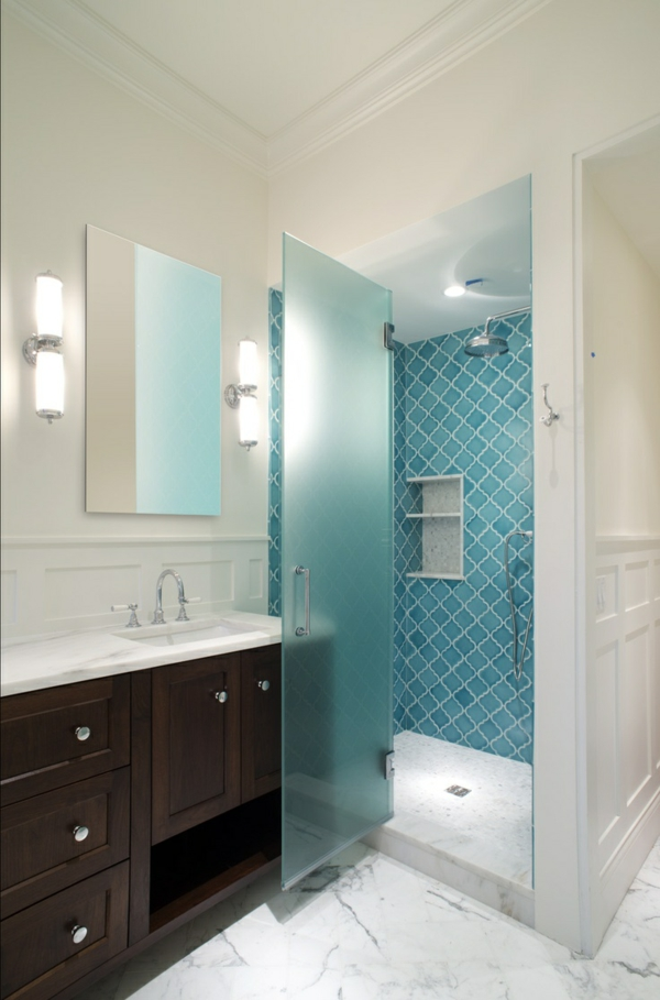 Fertig duschkabinen komplett komplettduschen mit blau