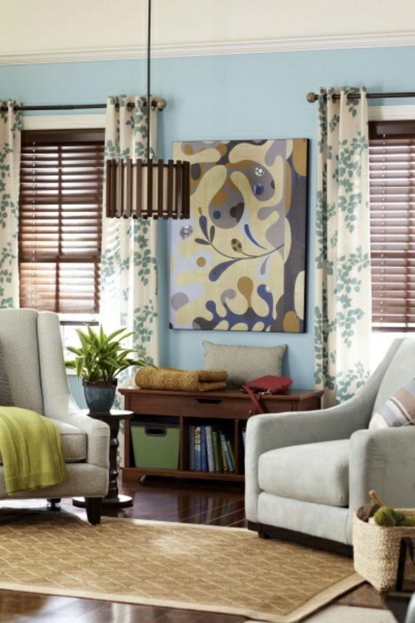 moderne wohnzimmer fenstergestaltung interessante ideen f r die gestaltung eines. Black Bedroom Furniture Sets. Home Design Ideas