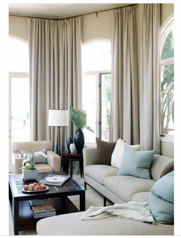 Image Result For Sky Blue Curtains For Bedroom