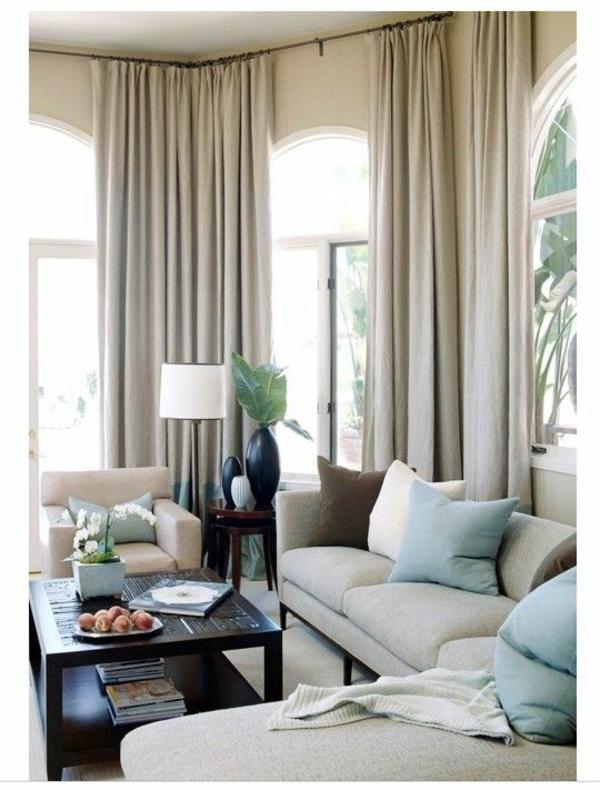 Gardinen Vorhnge Fenster Modern Designer Grau