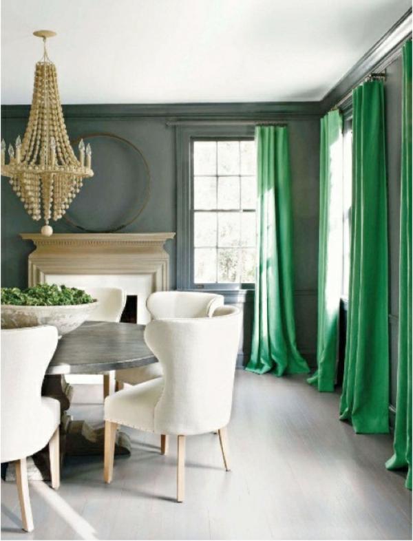 Wohnzimmer modern moderne gardinenideen praktische fenstergestaltung