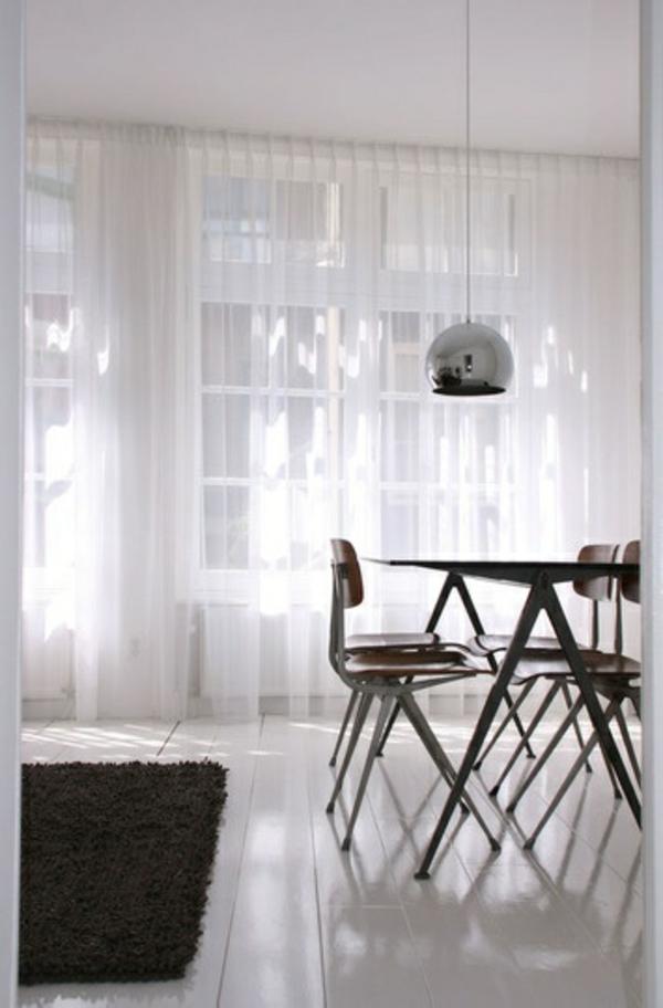 moderne Gardinenideen vorhänge fenster designer luxus