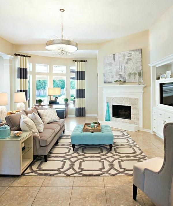 ▷ 1001+ Moderne Gardinenideen - Praktische Fenstergestaltung Gardinenideen Modern Fur Wohnzimmer