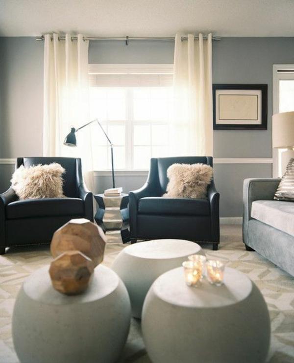 1001 moderne gardinenideen praktische fenstergestaltung for Moderne sessel design
