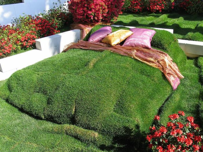 Gr ne wohnaccessoires ideen von der natur inspiriert - Grune bodenfliesen ...