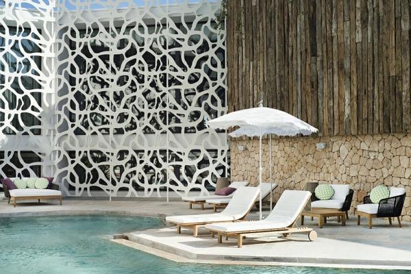 Hard Rock Hotel Ibiza terrasse liegen