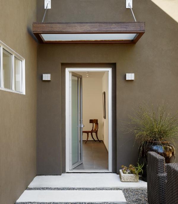 Hausvordächer - Haustürüberdachung und Vordächer aus Glas ...