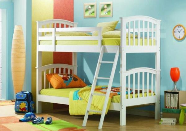 Hochbett Im Kinderzimmer Bodenvase Deko Treppe Hochbett Im Kinderzimmer U2013  100 Coole Etagenbetten Für Kinder ...