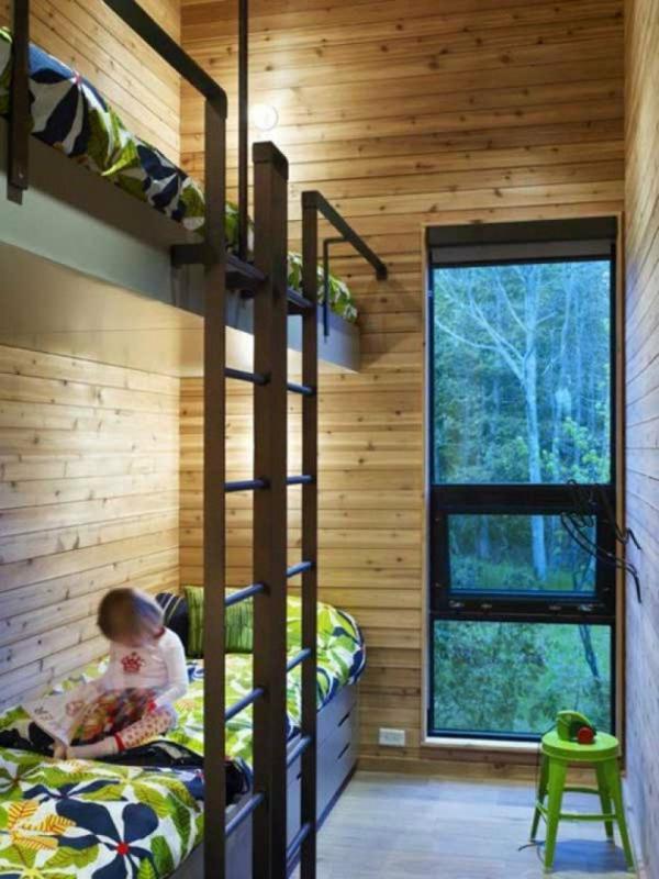 hochbett im kinderzimmer - 100 coole etagenbetten für kinder - Kinderzimmermobel Ideen Hochbetten