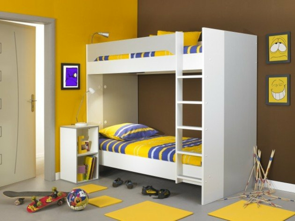 Etagenbett Kleines Kinderzimmer : Hochbett im kinderzimmer coole etagenbetten für kinder