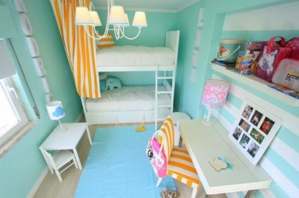hochbett im kinderzimmer - 100 coole etagenbetten für kinder - Farbgestaltung Kinderzimmer