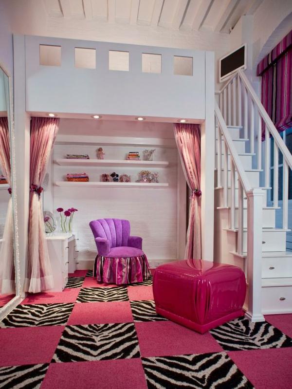 Hochbett im Kinderzimmer - 100 coole Etagenbetten für Kinder | {Kinderzimmer design 13}