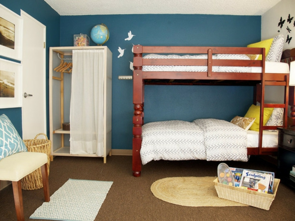 Etagenbett Junge Und Mädchen : Hochbett im kinderzimmer coole etagenbetten für kinder