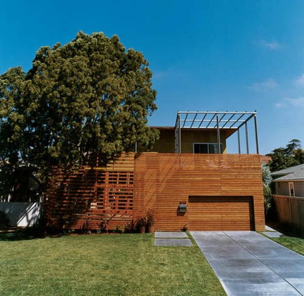 Holzbungalow Fertighaus Holz und Blockhäuser baum