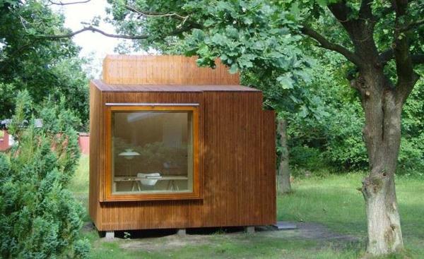 Fertighaus Holz und Blockhäuser Holzbungalow kasten glas