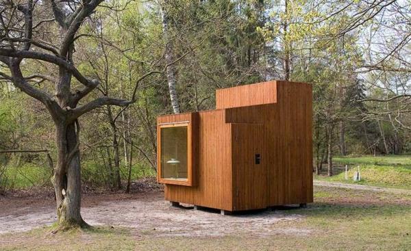 Holzbungalow Fertighaus Holz und Blockhäuser kasten