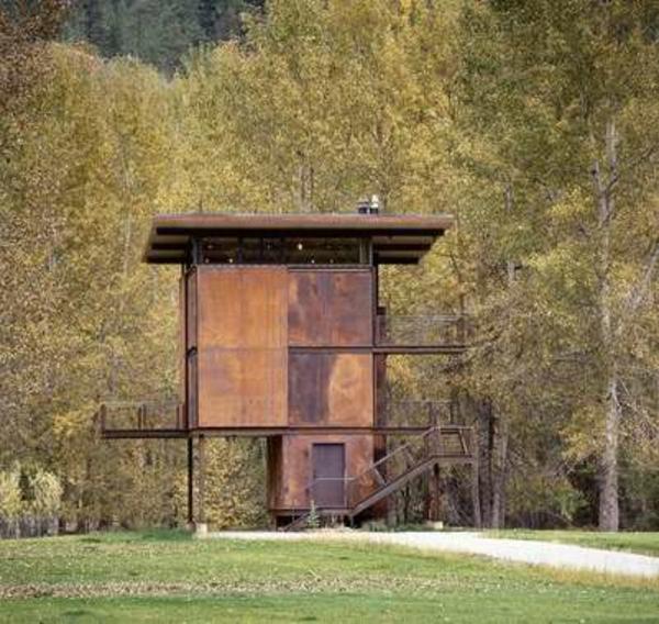 Fertighaus Holz und Blockhäuser Holzbungalow