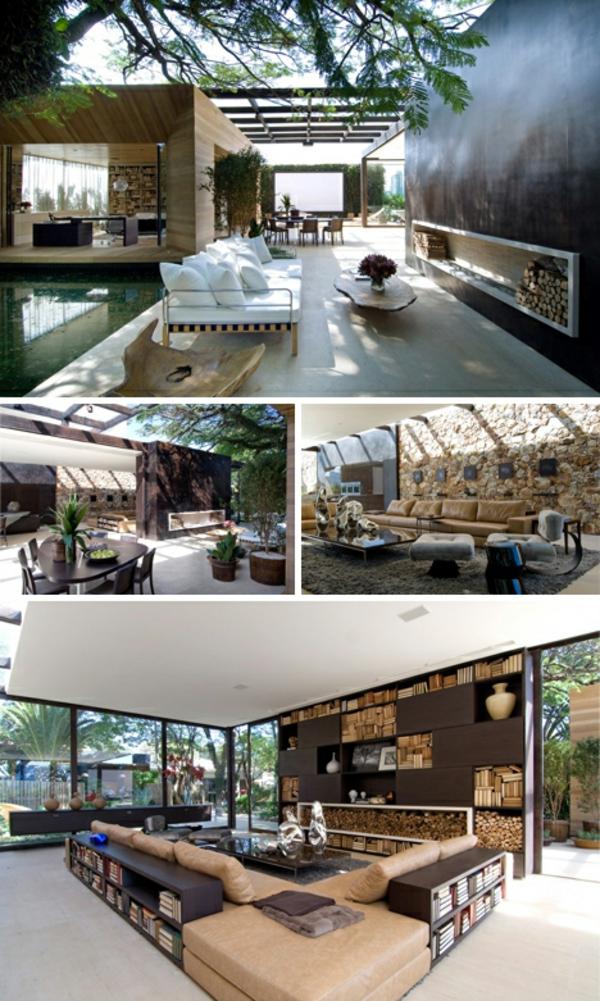 Holz bungalow Fertighaus Holz und Blockhäuser modern