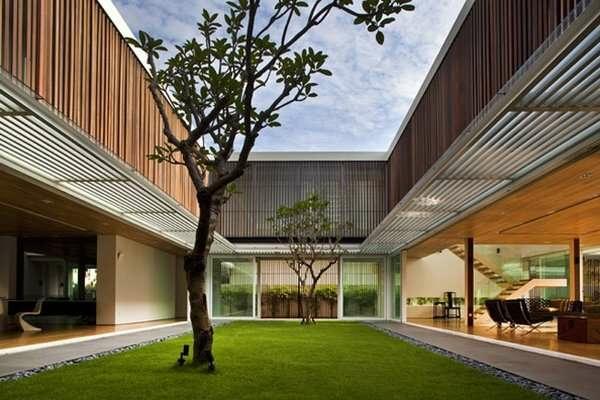 Holzbungalow Fertighaus Holz und Blockhäuser natur