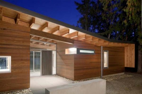 Fertighaus Holz und Blockhäuser neu Holzbungalow