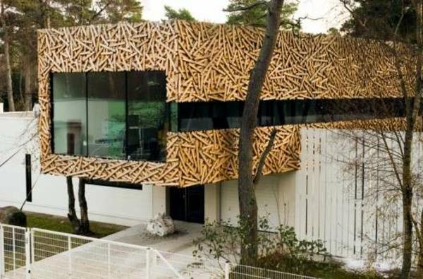 Fertighaus Holz und Holzbungalow Blockhäuser robust
