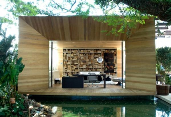 Holz bungalow Holz und Blockhäuser robust