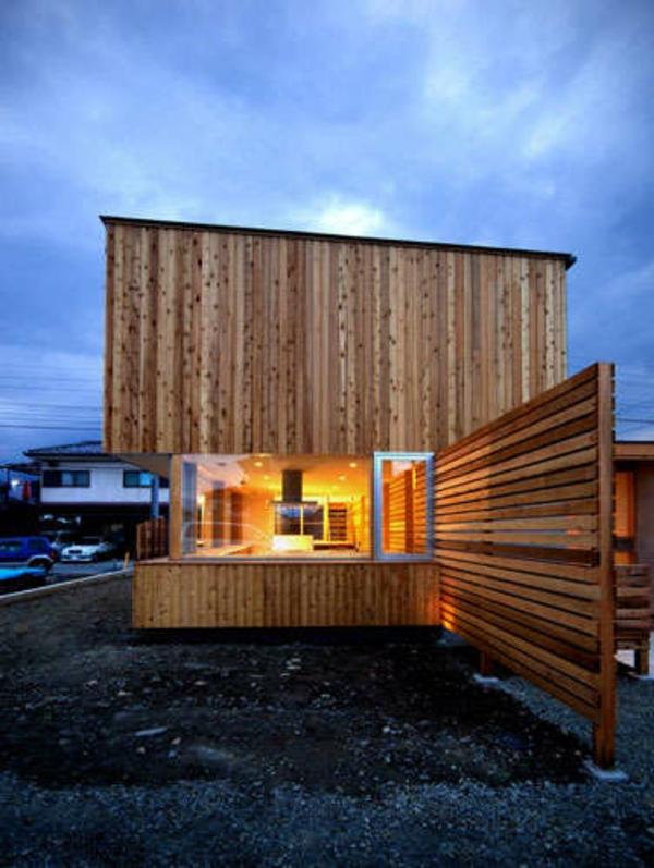 Fertighaus Holz Holzbungalow Blockhäuser schön